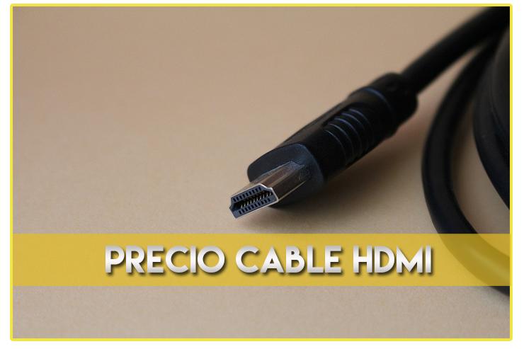 Precio cable HDMI